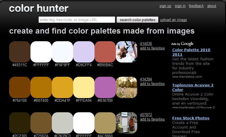 colorhunter.com
