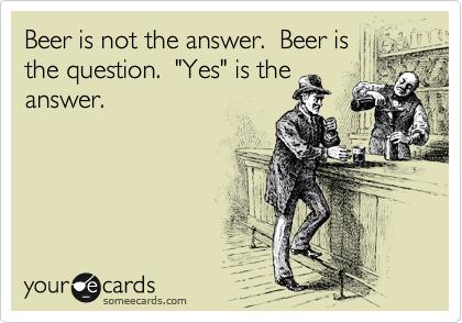 Bier antwoord